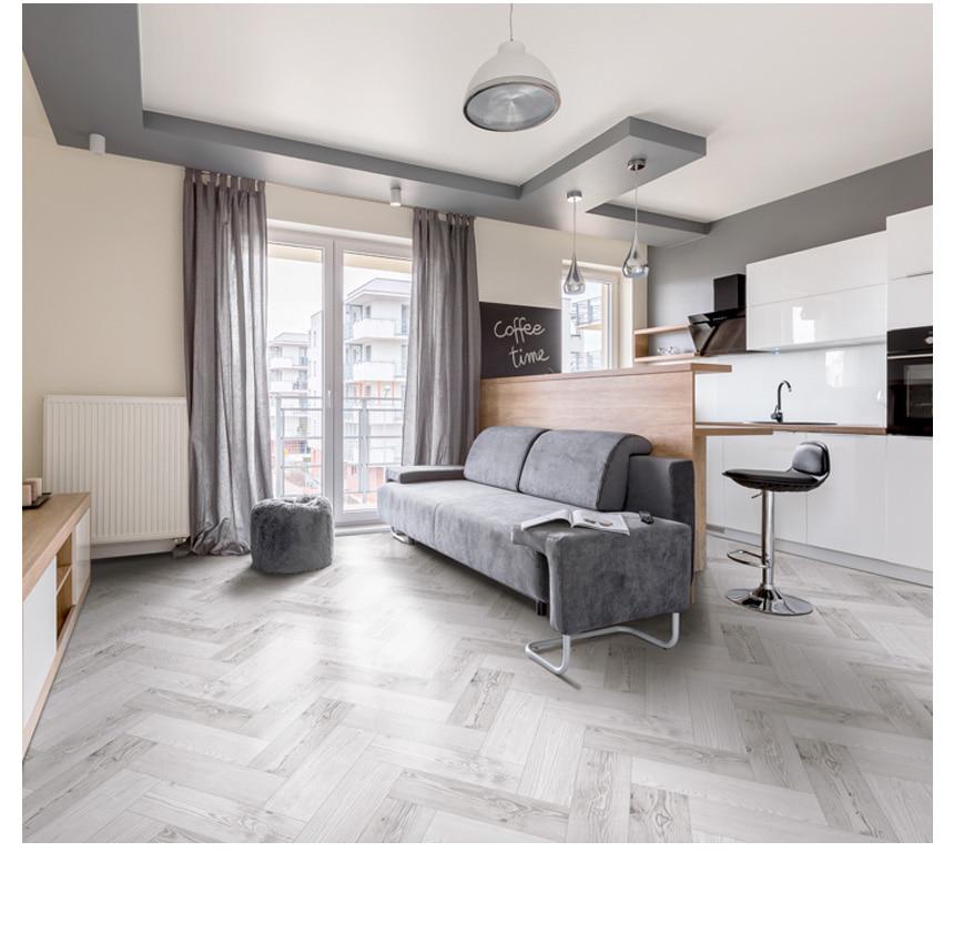 바닥 리폼 시트지 월넛 헤링본 그레이 (HBS05) - 데코사랑, 10,830원, 벽지/시트지, 패턴/무늬목 시트
