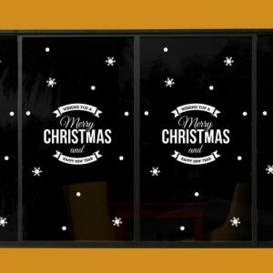 그래픽스티커 (ci146)-크리스마스라벨레터링소형