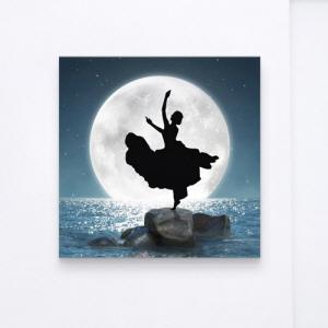 노프레임액자,cv257-달빛아래무용_바이올린_노프레임,캔버스액자,인테리어디자인데코소품,벽걸이,달,보름달,실루엣,악기,바이올린,예술,바다,장미,산,여자,자세